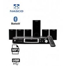 Nasco HT-S508-B308 Home Theatre System - 5.1 Channel Black
