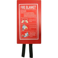 Red Fire Blanket
