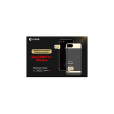 Comma- MoreCard 2, Bluetooth Version V4.0, Slim Slot, Power Bank 1,300 MAH Capacity Case For IPhone 7