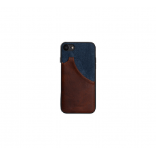 MeanLove Leather Case  For IPhone 7 (Blue)