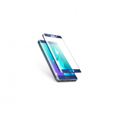 Curved Edge Glass Protector For Samsung S6 Edge Plus (Blue)