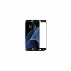 Curved Edge Glass Protector For Samsung S7 Edge (Black)