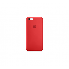Apple iPhone 6S Plus Silicone Case (Red)