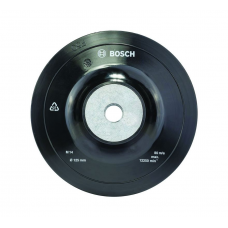 BOSCH 125 Mm Diameter Flange Thread Backing Pad [1608601033 ]