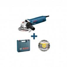 Bosch GWS 1400+ACC Professional Angle Grinder + Cutting Disk (0601824900)